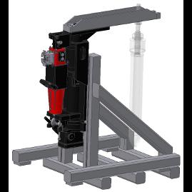 TB-DM Test bench for DEM-MQS electric stopper valve