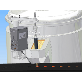 In-stream inoculant feeder