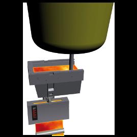 AMLC avec contrôle du débit par tiroir