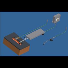 Capteur électromagnétique de niveau en lingotière