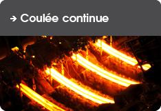Pour Coulée Continue d'acier