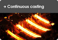 For Continuous casting